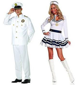 Sea Captain & First Mate | Costume Hub