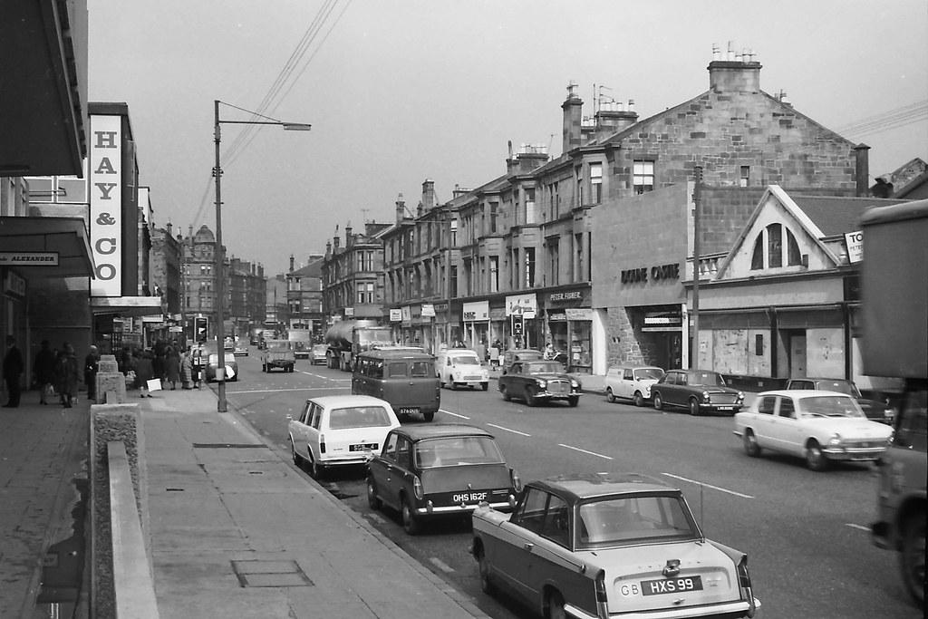Kilmarnock Road Shawlands First Job Ever Was Working