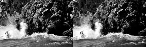 Smashing wave