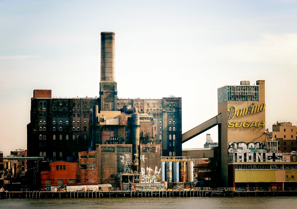 Domino Sugar Factory Brooklyn New York City The
