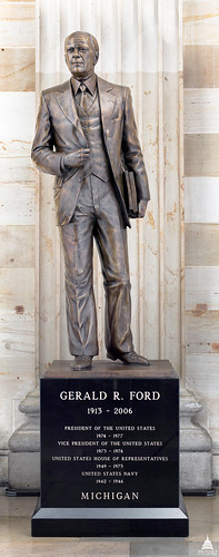 Gerald R. Ford, Jr. Statue | by USCapitol