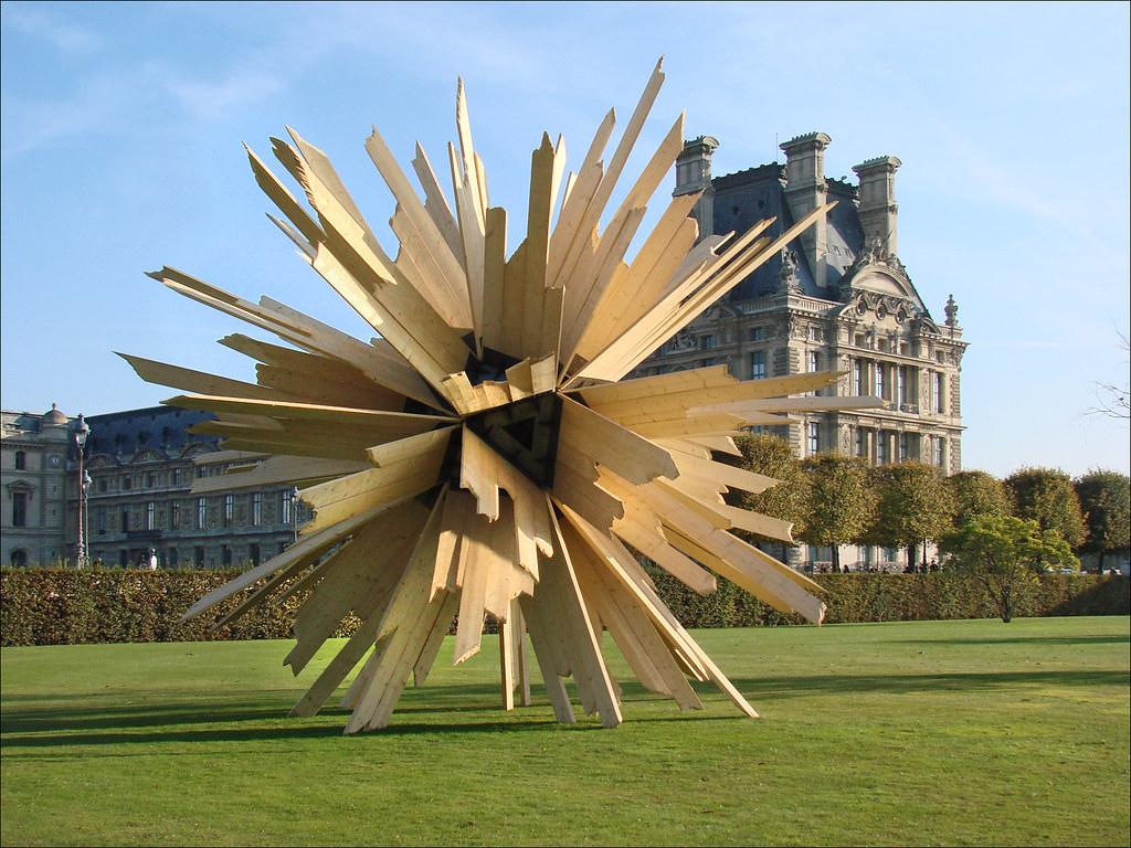 La fiac 2011 au jardin des tuileries paris vincent - Sculpture jardin des tuileries ...