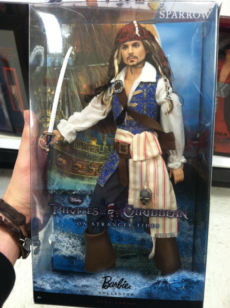 Jack Sparrow Collector Barbie | $35 at Target. | Damian ...