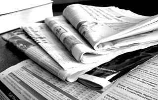 Newspapers B&W (3) | by NS Newsflash