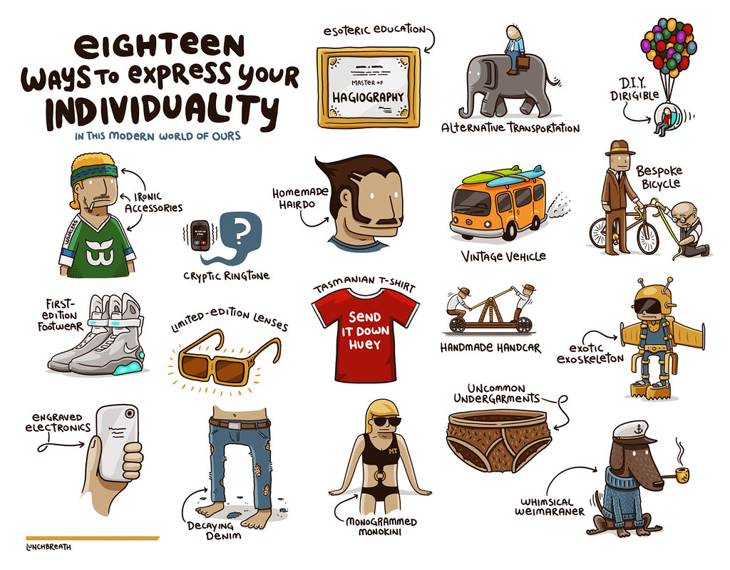 How to Express Your Individuality