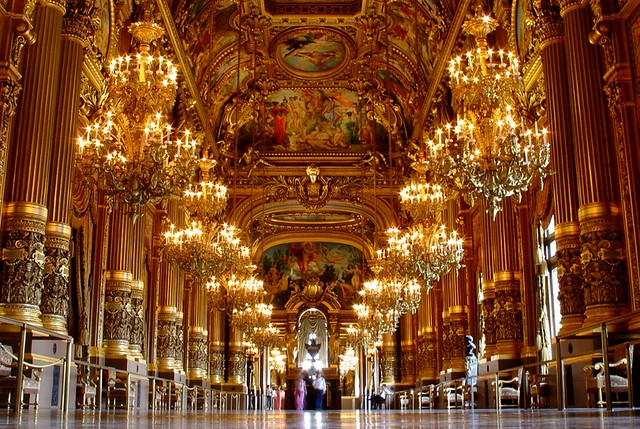 The Grand Foyer Palais Garnier : The grand foyer of palais garnier paris flickr photo