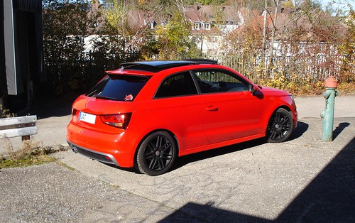H2o Audi A1 Roter Piranha Am Rande 04 S Line Misanorot S