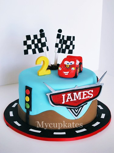 Cake Design Cars Theme : Disney Cars Cake mycupkates.blogspot.com/ Kate Kang ...