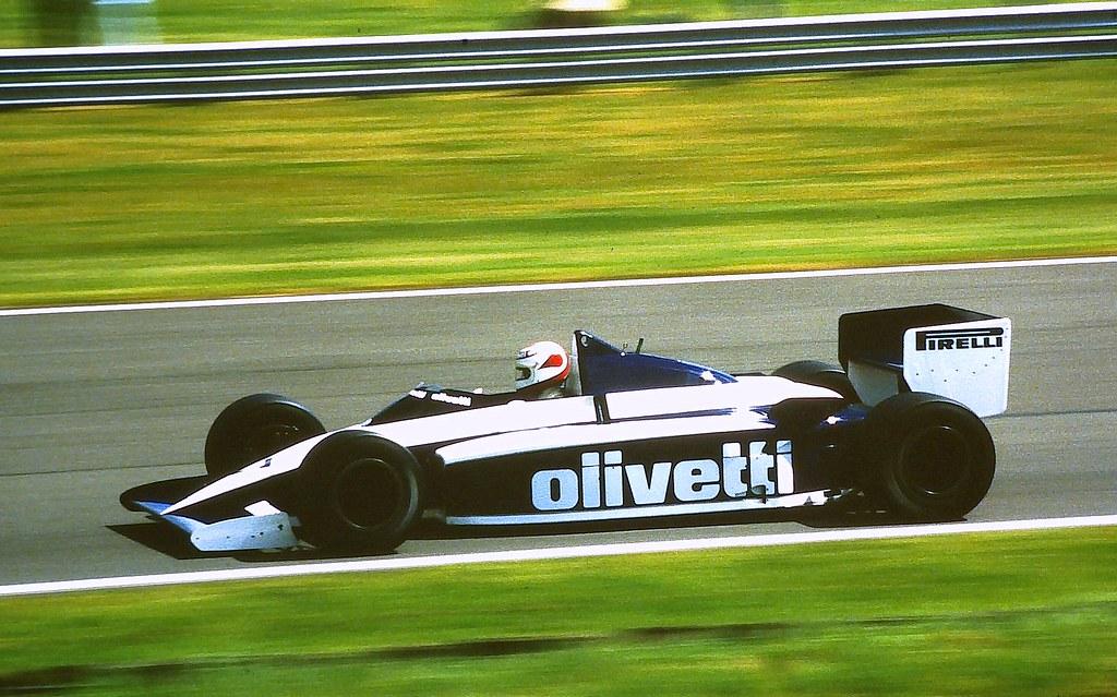 Та самая победоносная Brabham BT54.