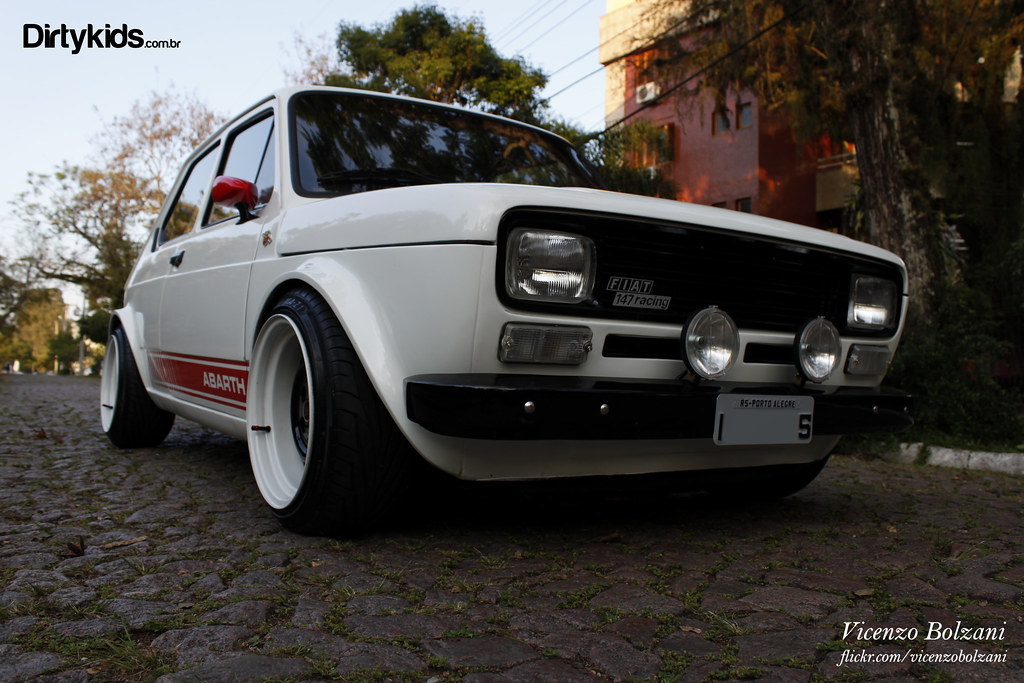 Fiat 147 Materia Dkc Vicenzo Bolzani Almeida Flickr