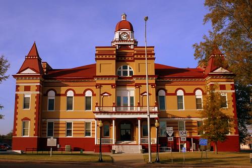 Gibson County Courthouse Front  - Trenton, TN