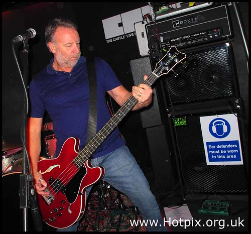 Peter Hook (New Order & Joy Division) and The Light, The Castle warm up gig, Oldham, Manchester, UK 16-11-2011 | by @HotpixUK -Add Me On Ipernity 500px