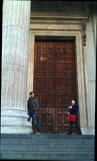 IMAG2681 Protest Songs for Occupy London 9.11.11. Main door of St Paul's cathedral closed. | by janetgyford