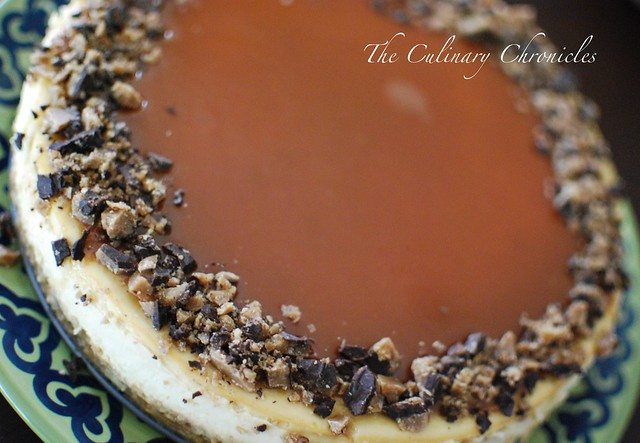 Toffee Crunch Caramel Cheesecake   Full Blog Post: theculina ...