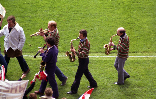 Hiss and Boo Band, 1981 John Player Cup Final | by Richard G. Hilsden