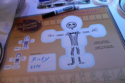 My Jack Skellington Drawing Animator S Palate Ricky