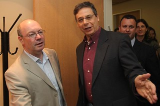 Alistair Burt meets Danny Ayalon | by UK in Israel