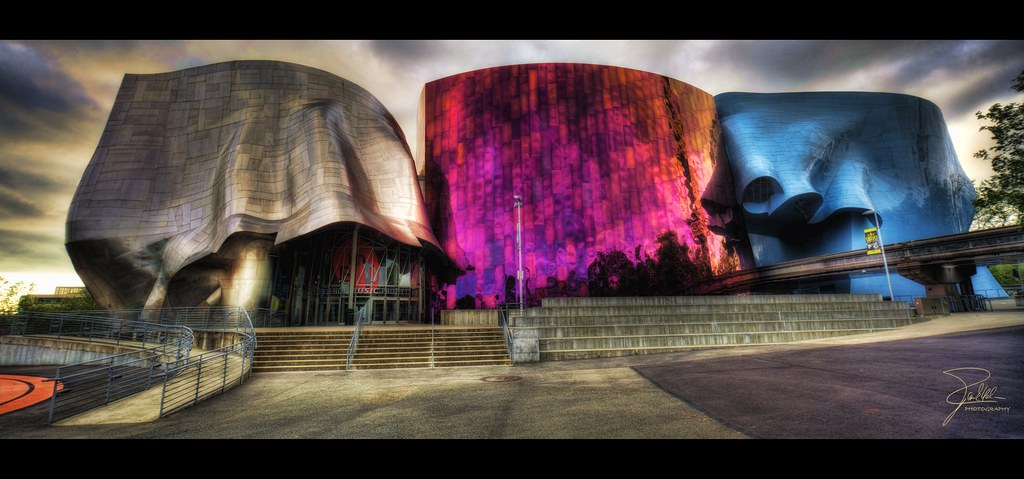 Experience Music Project and Science Fiction Museum and Ha