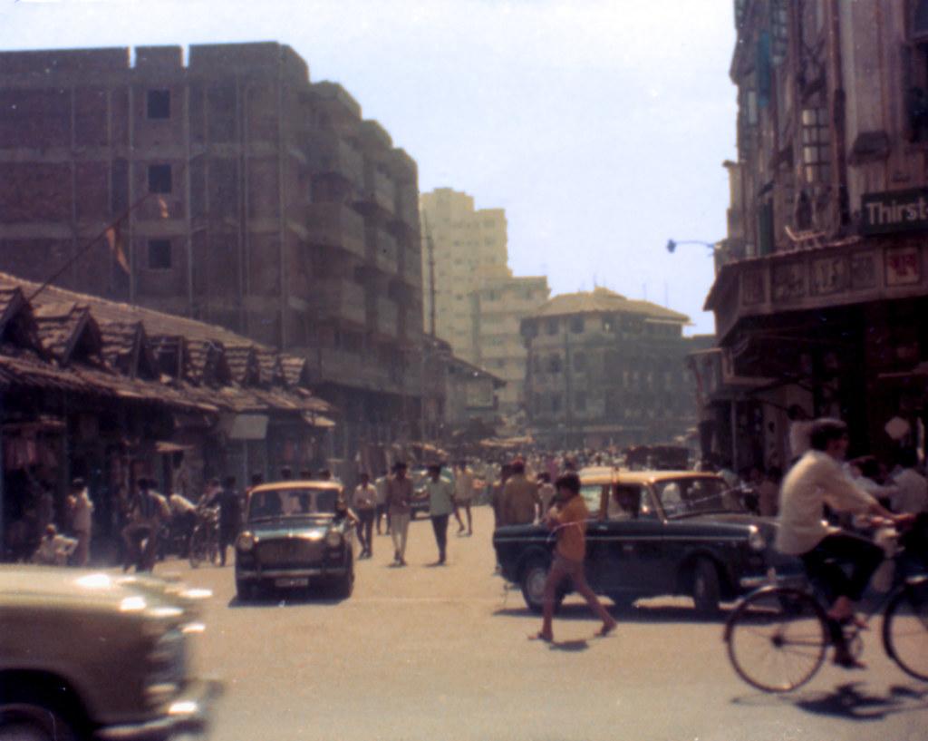 Image result for bombay street scene