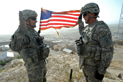 Re-enlistment on top of Alexander's Castle [Image 1 of 2] | by DVIDSHUB