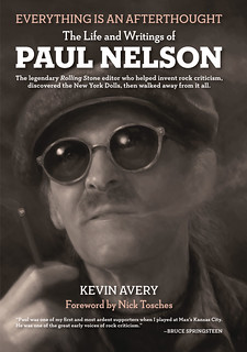 Everything Is an Afterthought: The Life and Writings of Paul Nelson by Kevin Avery - front cover (by Jeff Wong) | by fantagraphics