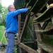 Nettoyage de la roue à aubes