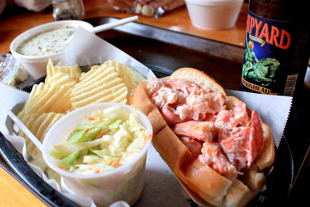 Lobster Roll @ Lobster Shack - Ogunquit, Maine | Check out t… | Flickr
