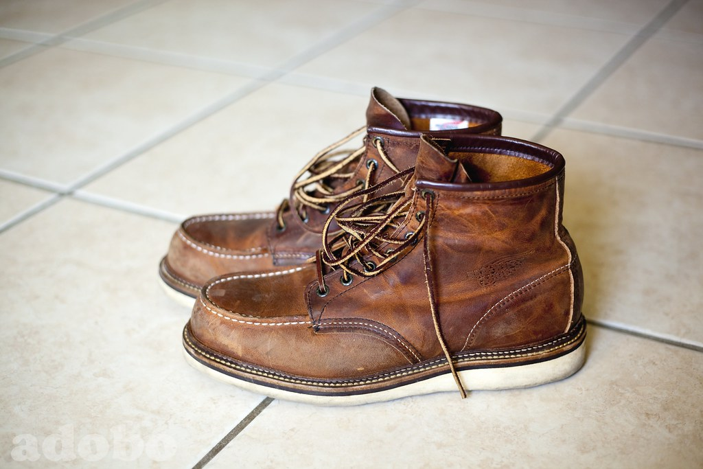 Red Wing 1907 Boots After About 1 Yr Of Casual Wear