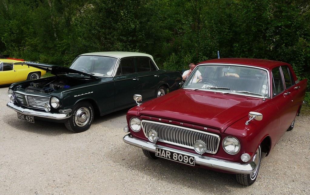 1963 Vauxhall Cresta Pb Amp 1965 Ford Zephyr 4 Pristine In