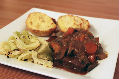 Braised Beef with Caramelised Onions | by Coffee Muffins
