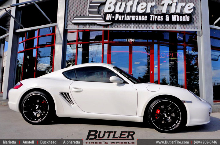 Porsche Cayman With 19in Bbs Ch R Wheels Additional Pictur Flickr