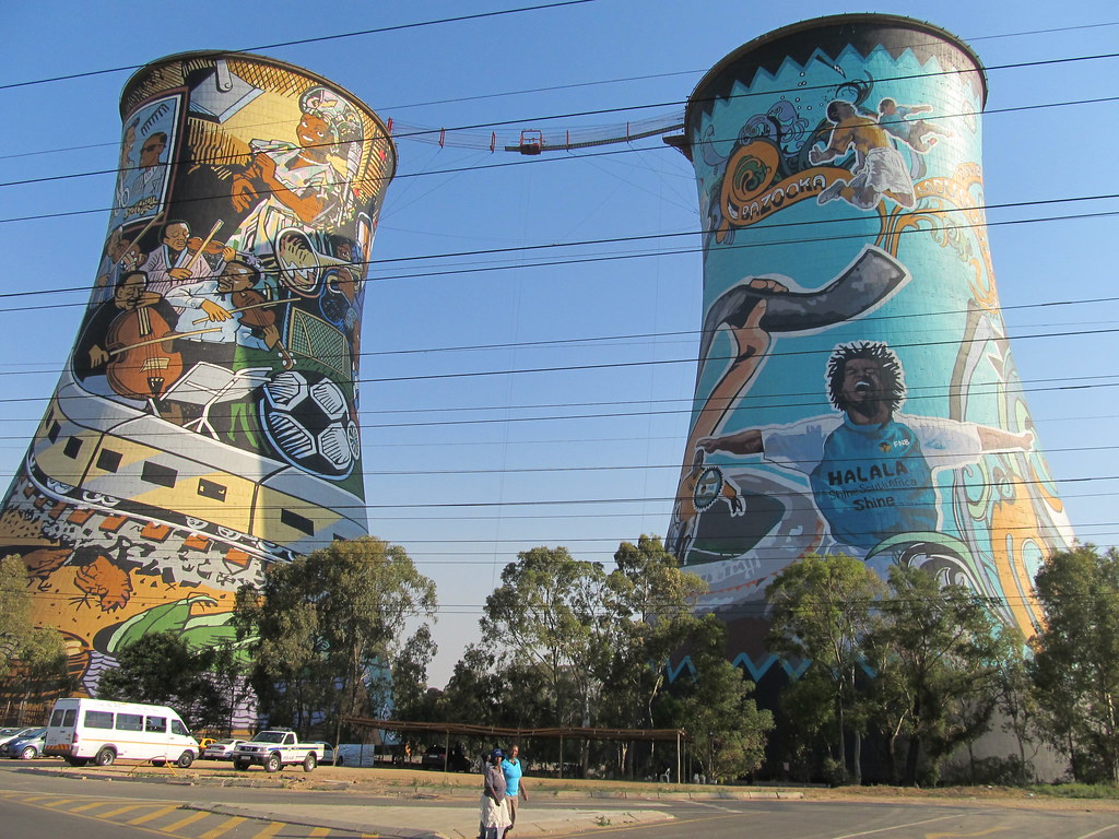 Soweto Coal Fired Electric Plant Long Closed But