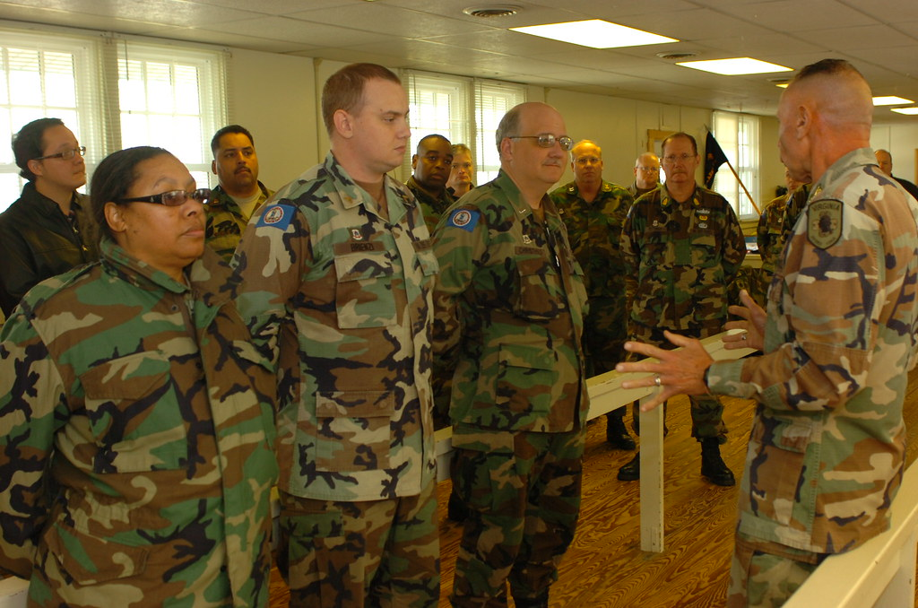 Virginia Defense Force : Virginia defense force conducts annual exercise col