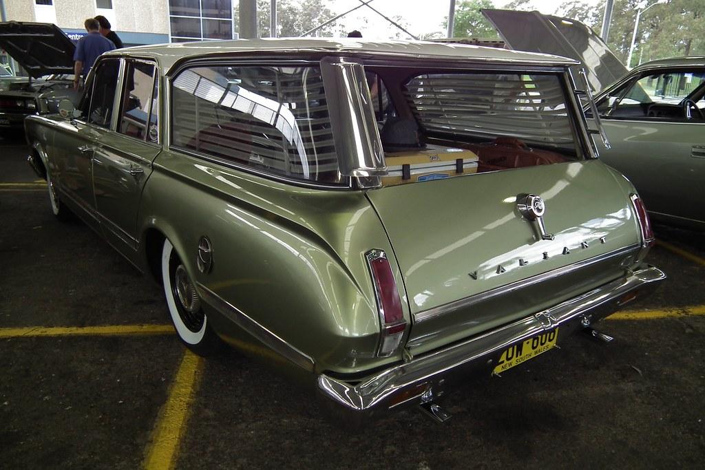 1966 Chrysler Vc Valiant Regal Safari Station Wagon Flickr