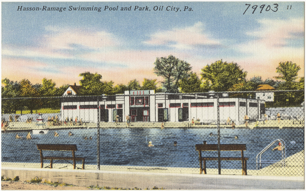 Hasson Ramage Swimming Pool And Park Oil City Pa Flickr