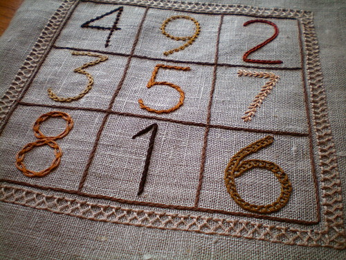 Magic Square Sampler (aka The Math Geek Sampler) | by juliezryan