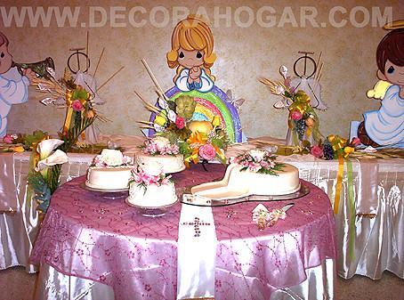 Decoraci n primera comuni n estando a la orden muchas for Fiestas comunion decoracion