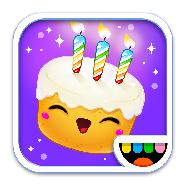 Birthday Party Icon Toca Boca From The Iphone Ipad