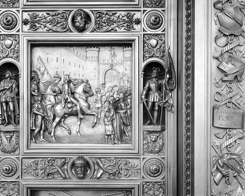 Entry of Columbus into Barcelona (1493) | by USCapitol