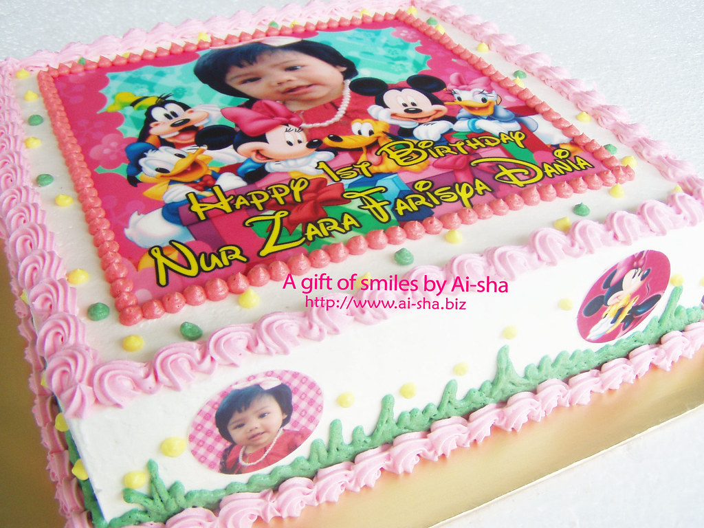 Birthday Cake Edible Image Mickey Mouse And Friends Flickr
