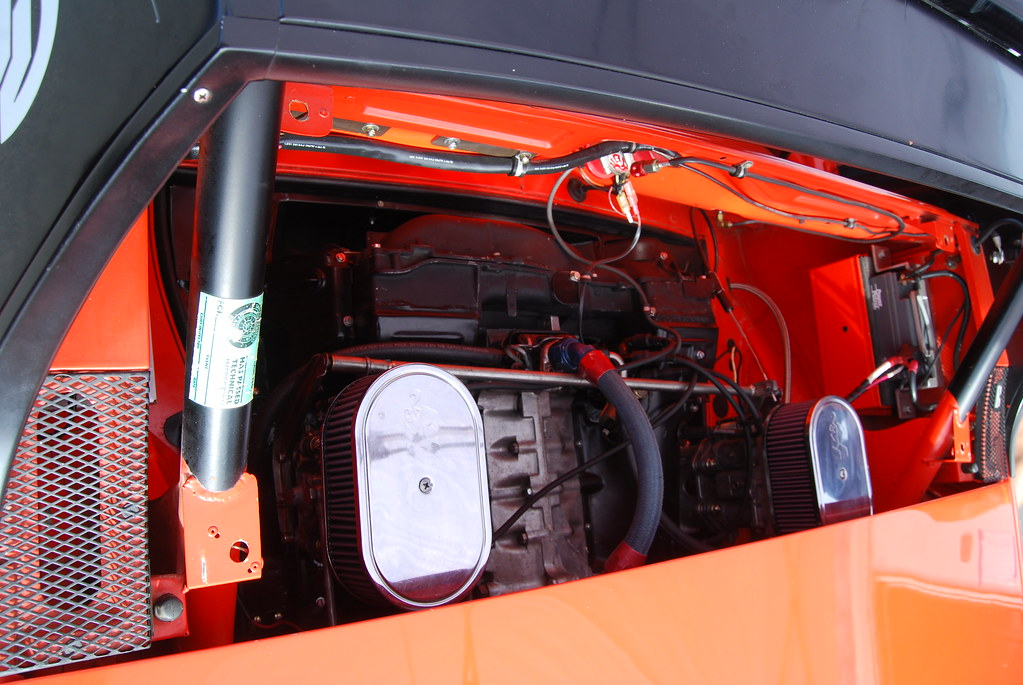 Engine Compartment Of The Richie Ginther 914