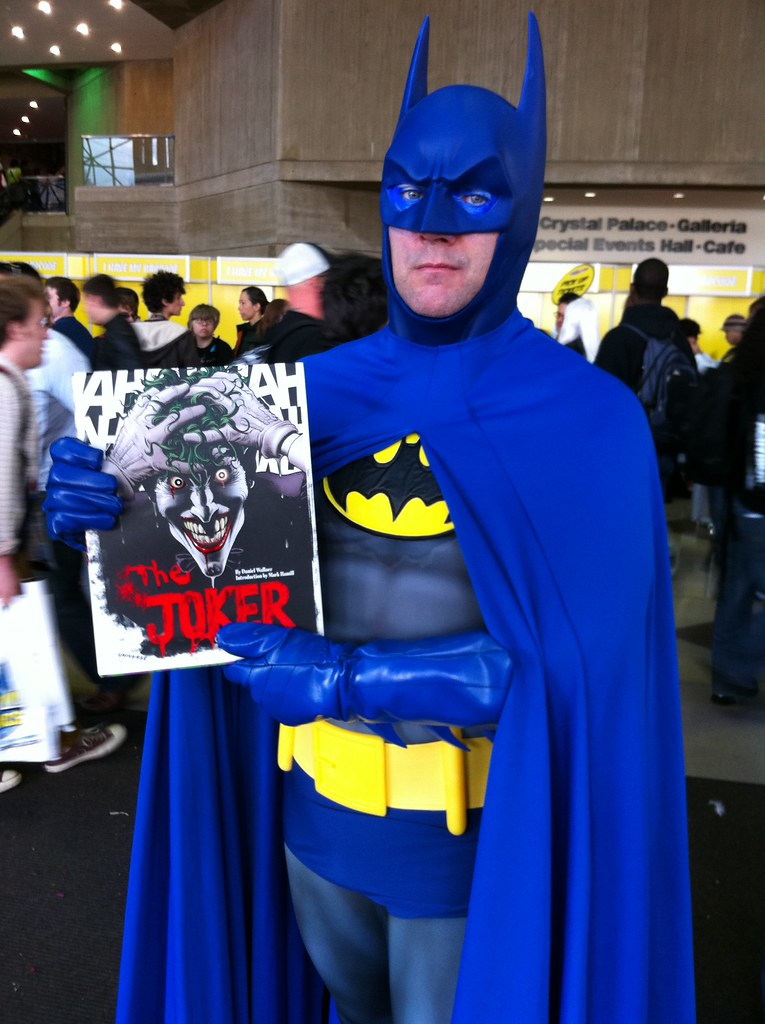 ... NYCC 2011 Neal Adams Batman with The Joker A Visual History of the Clown & NYCC 2011: Neal Adams Batman with The Joker: A Visual Histu2026 | Flickr