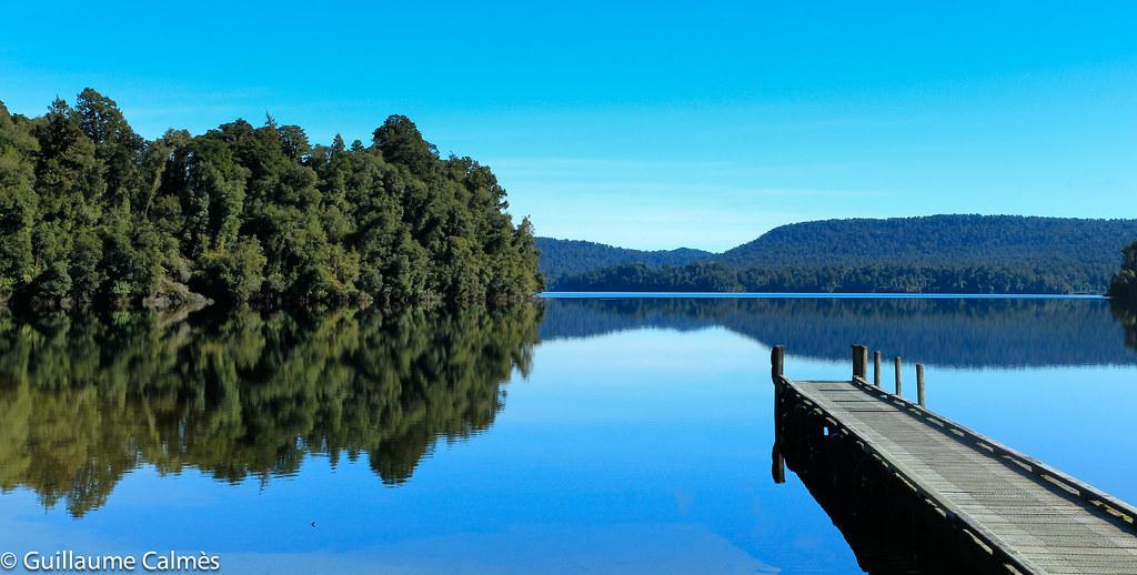 Lake Mapourika Waiho West Coast New Zealand 4 Franz