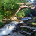 West Burton Waterfalls, (Cauldron Falls), Yorkshire, UK | Picturesque waterfalls viewed through old stone bridge in the Yorkshire Dales (9 of 10)