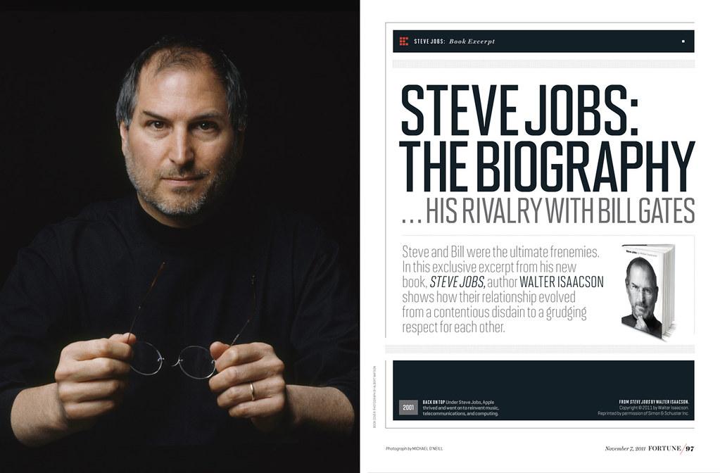 Steve Jobs: The Biography (1) | Fortune // Nov. 7, 2011 SPD ...