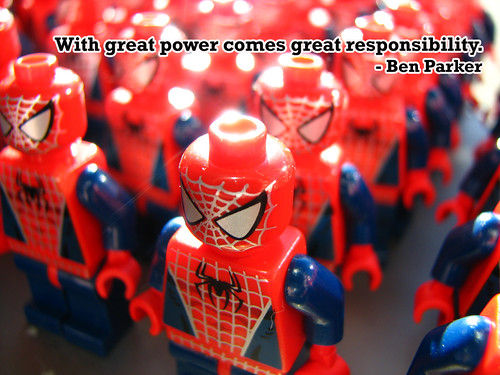 With Great Power Comes Great Responsibility | by Clint Hamada