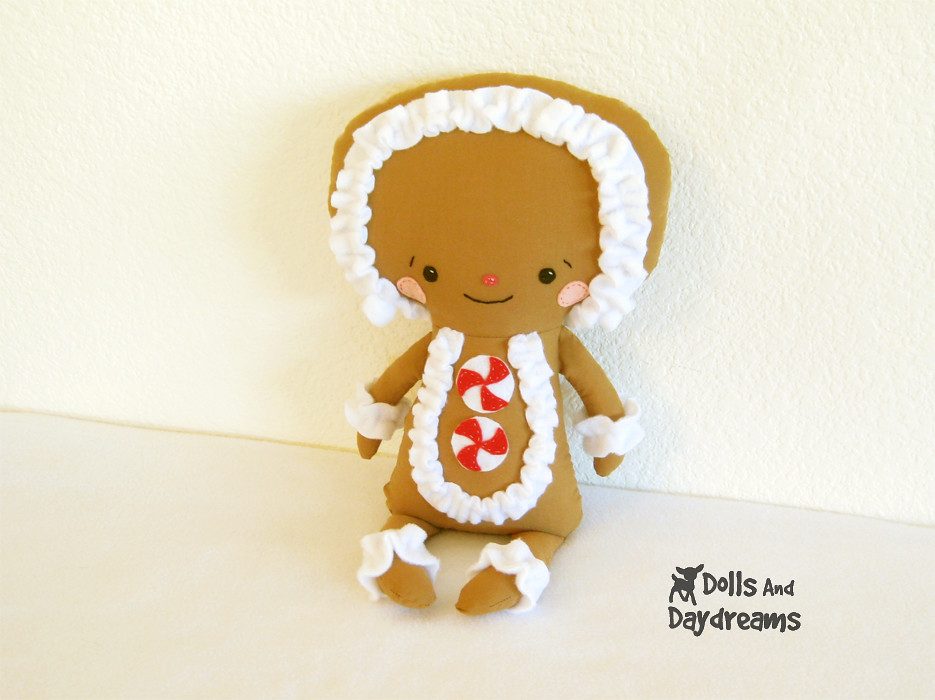 Christmas Gingerbread man kawaii sewing pattern copy | Flickr