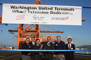 WUT berth: Ribbon cutting ceremony | by Port of Tacoma