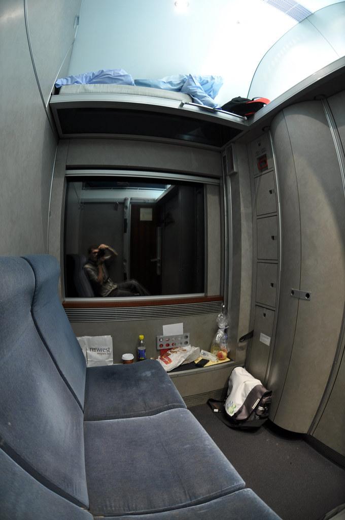 Obb Sleeper Cabin Overnight Train To Florence Vienna