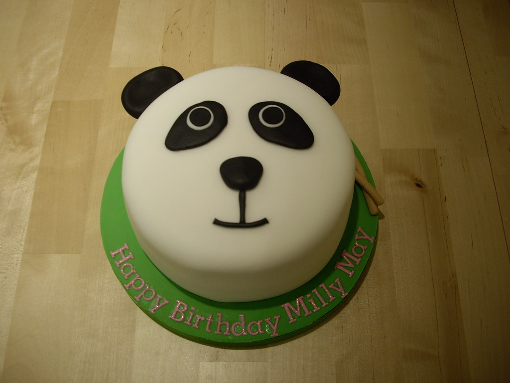 Panda Birthday Cake Photos